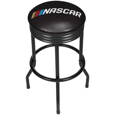 NASCAR Ribbed 28.5 Swivel Bar Stool