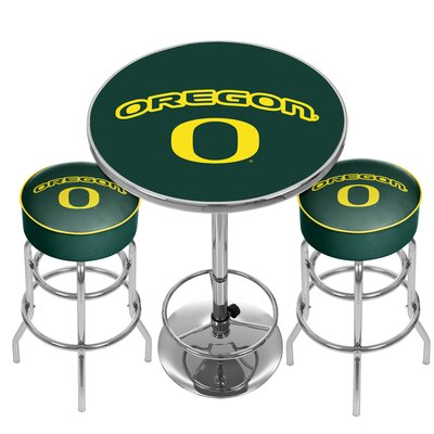 NCAA Game Room Combo Pub Table NCAA Team: University of Oregon