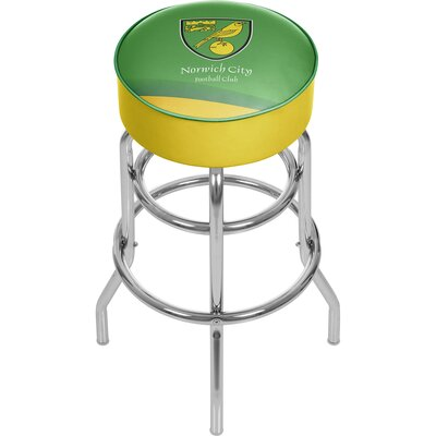 English Premier League 31 Swivel Bar Stool Premier League Team: Norwich City
