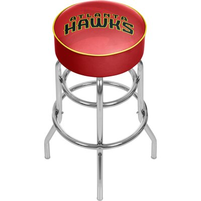 NBA Fade 31 Swivel Bar Stool NBA Team: Atlanta Hawks
