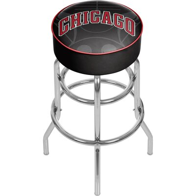 NBA Fade 31 Swivel Bar Stool NBA Team: Chicago Bulls