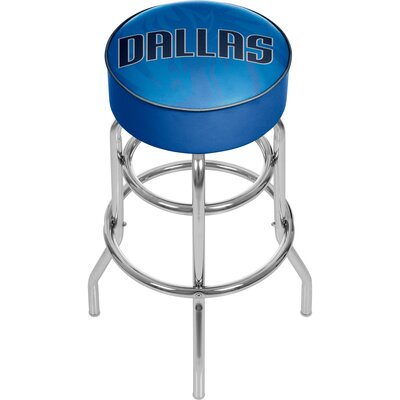 NBA Fade 31 Swivel Bar Stool NBA Team: Dallas Mavericks