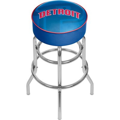NBA Fade 31 Swivel Bar Stool NBA Team: Detroit Pistons