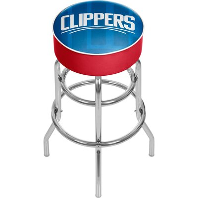 NBA Fade 31 Swivel Bar Stool NBA Team: Los Angeles Clippers