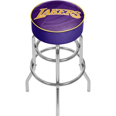NBA Fade 31 Swivel Bar Stool NBA Team: Los Angeles Lakers