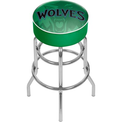 NBA Fade 31 Swivel Bar Stool NBA Team: Minnesota Timberwolves