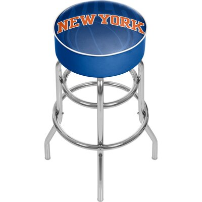 NBA Fade 31 Swivel Bar Stool NBA Team: New York Knicks