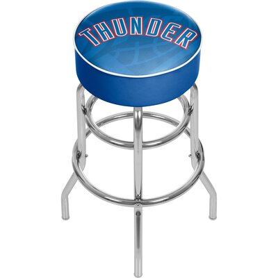 NBA Fade 31 Swivel Bar Stool NBA Team: Oklahoma City Thunder