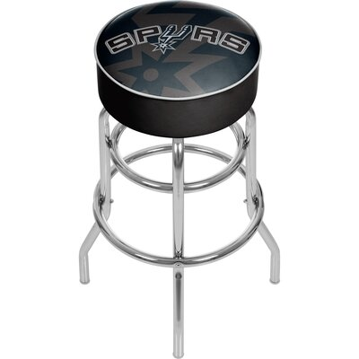 NBA Fade 31 Swivel Bar Stool NBA Team: San Antonio Spurs