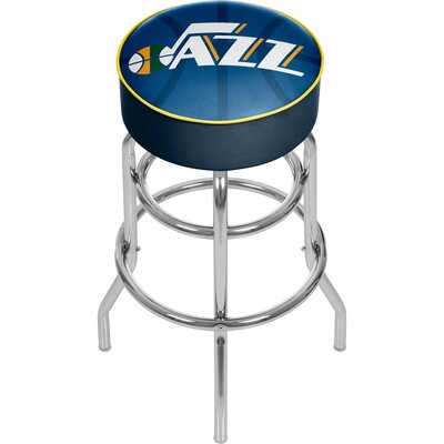 NBA Fade 31 Swivel Bar Stool NBA Team: Utah Jazz