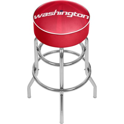 NBA Fade 31 Swivel Bar Stool NBA Team: Washington Wizards