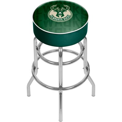NBA 31 Swivel Bar Stool NBA Team: Milwaukee Bucks