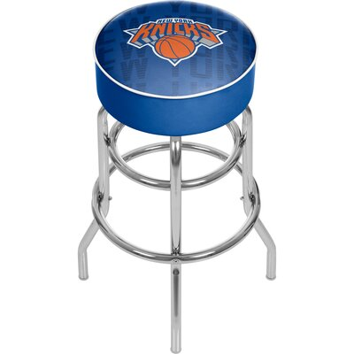 NBA 31 Swivel Bar Stool NBA Team: New York Knicks