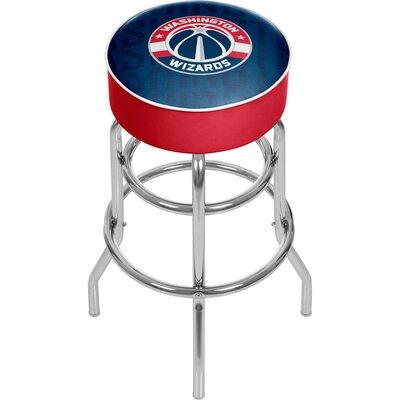 NBA 31 Swivel Bar Stool NBA Team: Washington Wizards