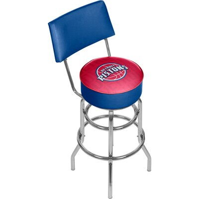 NBA 31 Swivel Bar Stool NBA Team: Detroit Pistons