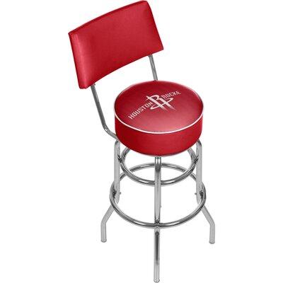 NBA 31 Swivel Bar Stool NBA Team: Houston Rockets