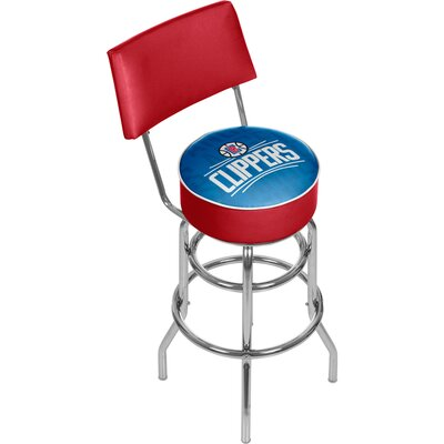 NBA 31 Swivel Bar Stool NBA Team: Los Angeles Clippers