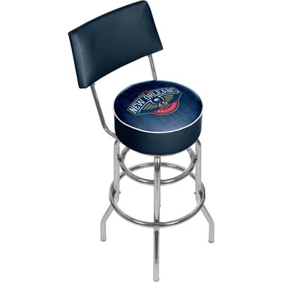 NBA 31 Swivel Bar Stool NBA Team: New Orleans Pelicans