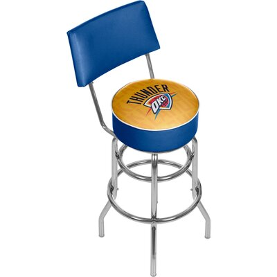 NBA 31 Swivel Bar Stool NBA Team: Oklahoma City Thunder