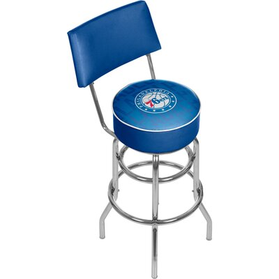 NBA 31 Swivel Bar Stool NBA Team: Philadelphia 76ers