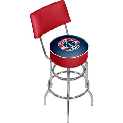 NBA 31 Swivel Bar Stool NBA Team: Washington Wizards