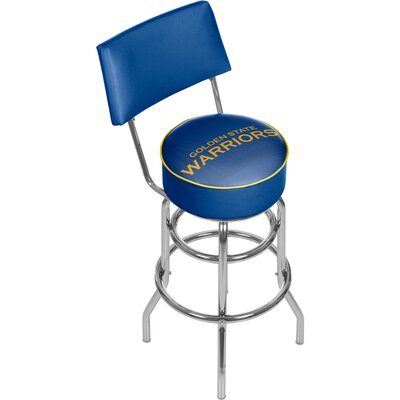 NBA Fade 31 Swivel Bar Stool NBA Team: Golden State Warriors