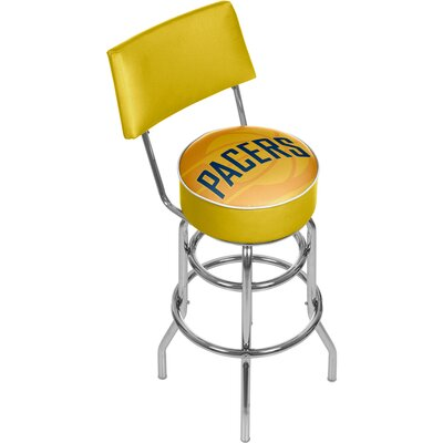 NBA Fade 31 Swivel Bar Stool NBA Team: Indiana Pacers