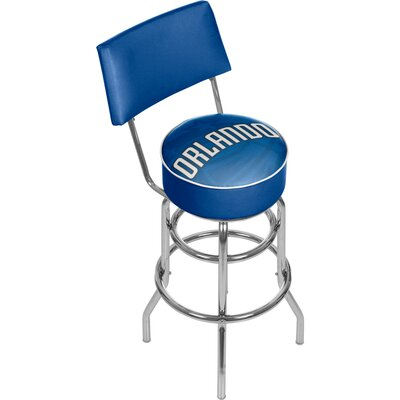 NBA Fade 31 Swivel Bar Stool NBA Team: Orlando Magic