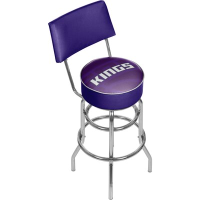 NBA Fade 31 Swivel Bar Stool NBA Team: Sacramento Kings