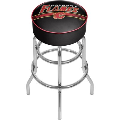 NHL 31 Swivel Bar Stool NHL Team: Calgary Flames