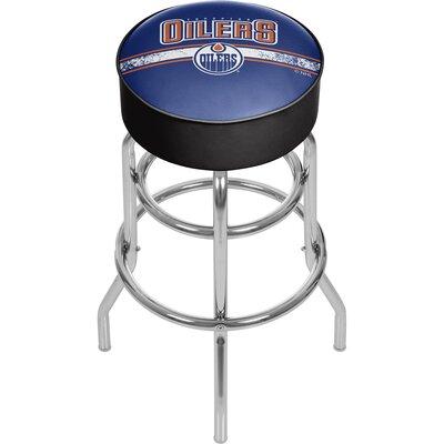 NHL 31 Swivel Bar Stool NHL Team: Edmonton Oilers