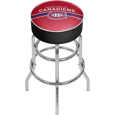 NHL 31 Swivel Bar Stool NHL Team: Montreal Canadiens