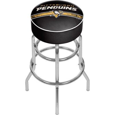 NHL 31 Swivel Bar Stool NHL Team: Pittsburgh Penguins