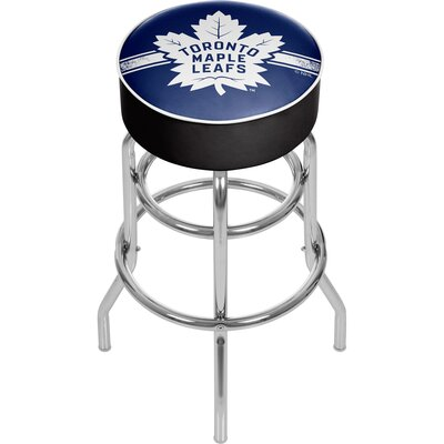 NHL 31 Swivel Bar Stool NHL Team: Toronto Maple Leafs