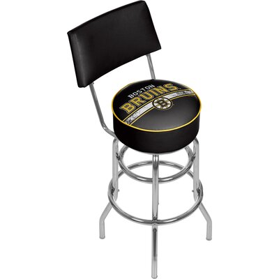 NHL 31 Swivel Bar Stool NHL Team: Boston Bruins