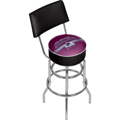 NHL 31 Swivel Bar Stool NHL Team: Colorado Avalanche