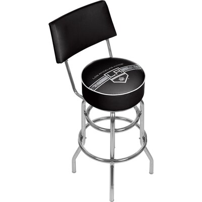 NHL 31 Swivel Bar Stool NHL Team: Los Angeles Kings