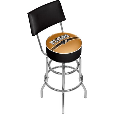 NHL 31 Swivel Bar Stool NHL Team: Philadelphia Flyers