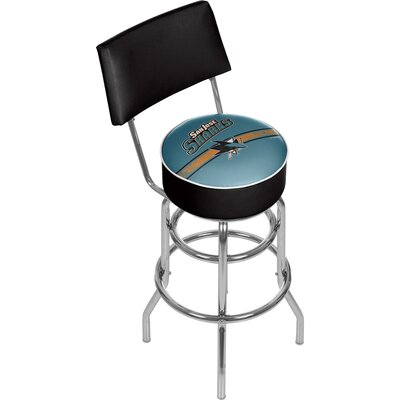 NHL 31 Swivel Bar Stool NHL Team: San Jose Sharks