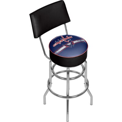 NHL 31 Swivel Bar Stool NHL Team: Washington Capitals