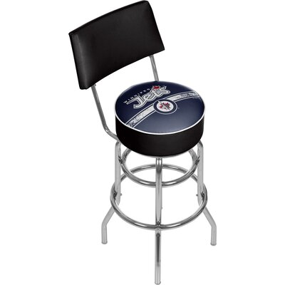 NHL 31 Swivel Bar Stool NHL Team: Winnipeg Jets