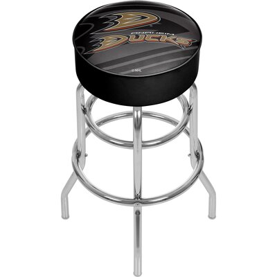 NHL Watermark Swivel Bar Stool NHL Team: Anaheim Ducks