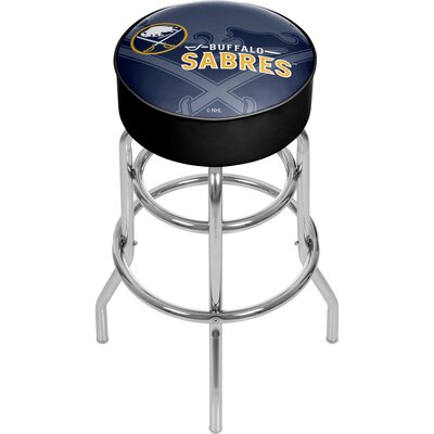 NHL Watermark Swivel Bar Stool NHL Team: Buffalo Sabres