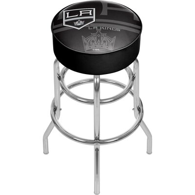 NHL Watermark Swivel Bar Stool NHL Team: Los Angeles Kings