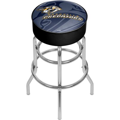 NHL Watermark Swivel Bar Stool NHL Team: Nashville Predators