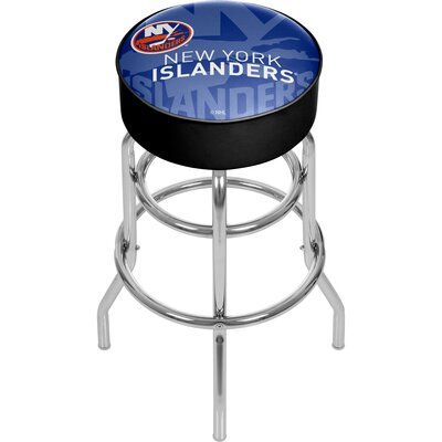 NHL Watermark Swivel Bar Stool NHL Team: New York Islanders