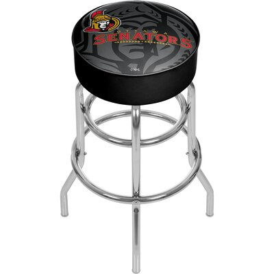 NHL Watermark Swivel Bar Stool NHL Team: Ottawa Senators