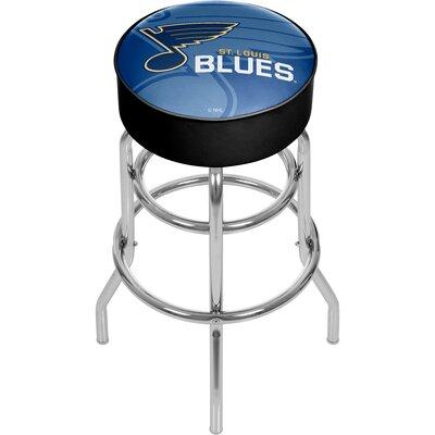 NHL Watermark Swivel Bar Stool NHL Team: St. Louis Blues