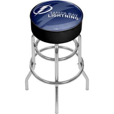 NHL Watermark Swivel Bar Stool NHL Team: Tampa Bay Lightning