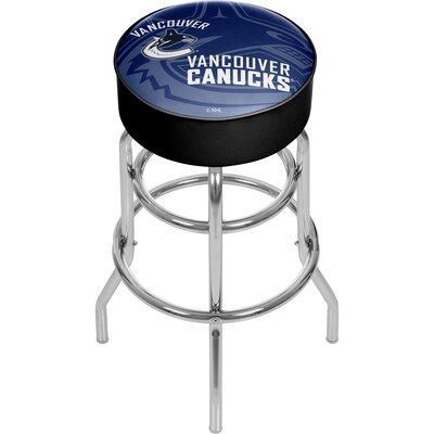 NHL Watermark Swivel Bar Stool NHL Team: Vancouver Canucks